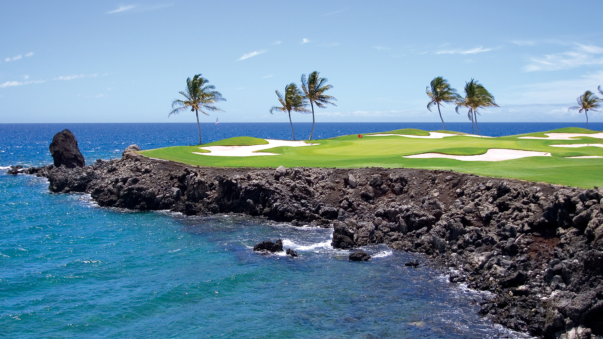Mauna Lani's Francis H. I'i Brown South Course