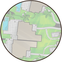 Site Map View Of Property #14.