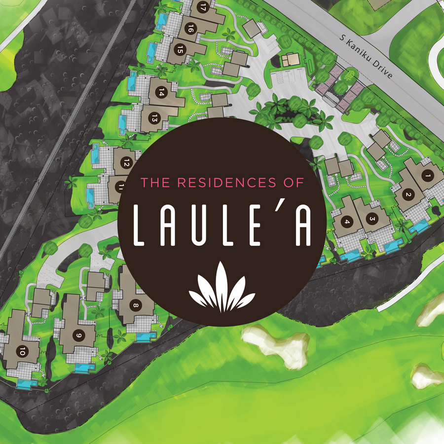 The Residences of Laule'a project on the Big Island of Hawaii.