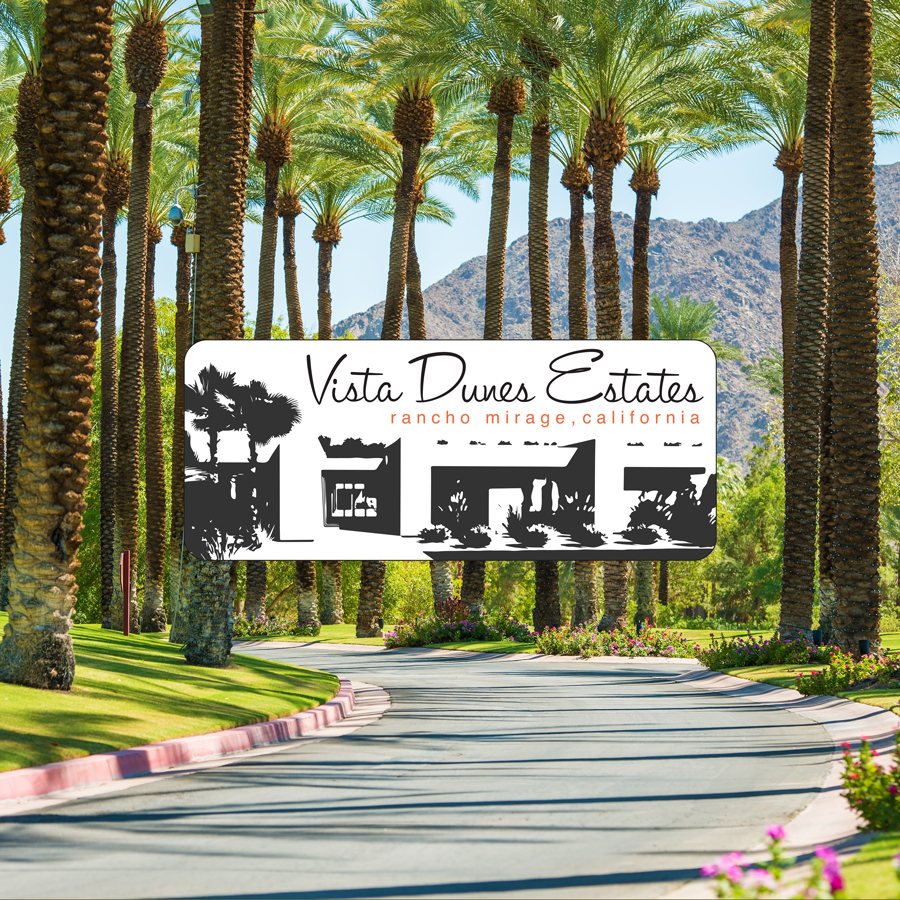 The Vista Dunes project in Palm Springs.